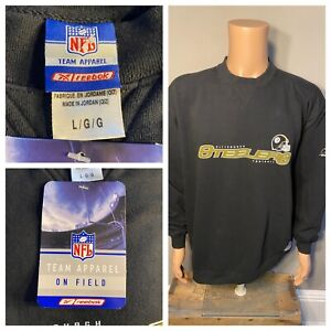 Pittsburgh Steelers Reebok on field swatshirt adult size Large New with Tags NWT