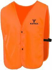 King's Camo Blaze Orange Vest