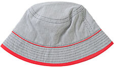 *NEW*JOHN LEWIS BOYS TICKING STRIPE HAT, LARGE, BLUE/WHITE/RED