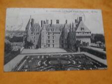 cpa indre-et-loire .LANGEAIS le château façade méridionale