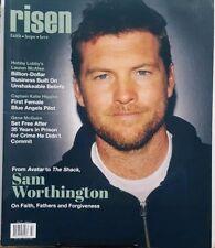Risen Vol 17 Issue 2 Sam Worthington Faith Hope Love ForgivenessFREE SHIPPING CB
