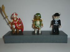 PLAYMOBIL - 3 MIXED KNIGHTS WITH ACCESSORIES
