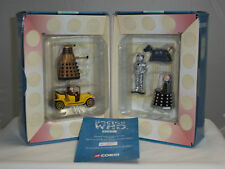 CORGI TY96205 DR DOCTOR WHO DALEK BESSIE CAR K9 DAVROS CYBERMAN METAL FIGURE SET