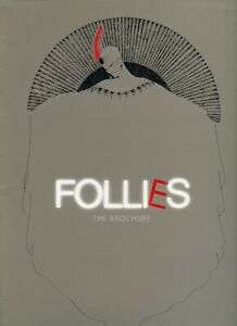 Follies Souvenir Program 1987 West End Revival starring Diana Rigg
