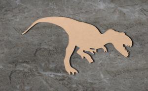 Large Dinosaur Craft Wooden Shape Blank Wood 10 20 30 40cm Unpainted