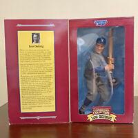 "NIB Vintage 1996 Lou Gehrig Starting Lineup 12"" Poseable Figure VTG Hasbro MLB"