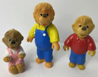 Vintage McDonald's Toys Berenstain Bears Figure Lot Of 3 DA92984