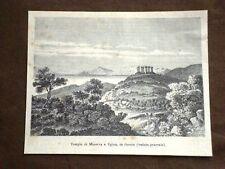 Tempio di Minerva a Egina Veduta Generale Grecia