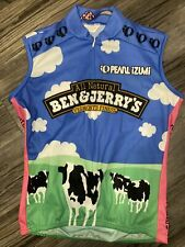 Women's Pearl Izumi Ben and Jerry's Ice Cream Cycling Jersey Bike Italy Sz Small