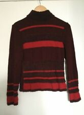 "DIKTONS BARCELONA – TEXTURED STRIPED SWEATER – Sz M – from ""THE NEW YORK LOOK"""