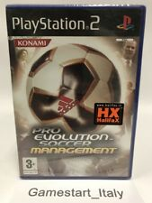PRO EVOLUTION SOCCER MANAGEMENT - SONY PS2 - NUOVO SIGILLATO NEW PAL PES RARO