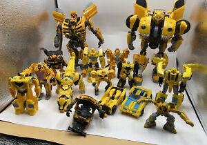 Transformers Bumblebee Lot Takara Tomy Rotf Cyberverse Rescue Bot