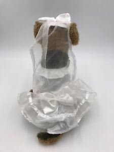 Casual Canine Wedding Dress Outfit Halloween Costume Sz XS