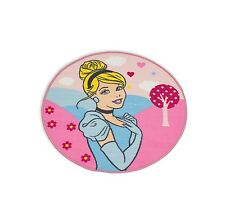 Disney Princess Enchanting Cinderella Floor Rug 80cm Girls Kids Pink
