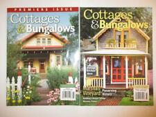 Premiere Issue Cottages & Bungalows Winter 2007 Victorian Romntc Homes Magazine