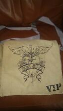 Bon Jovi  VIP Army Green Canvas Messenger Bag