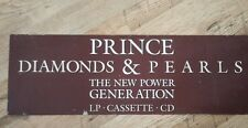 0(+> PRINCE PROMO DISPLAY BOARD - diamonds & pearls cd lp mc 0(+> rare