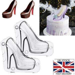 3D High-Heeled Shoes Mold Fondant Cake Chocolate Mold Cake Dessert Decorating LH