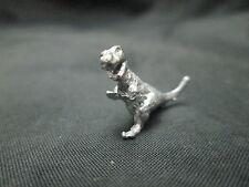 Dollhouse Miniature Unfinished Metal Dinosaur Figurine - T-Rex