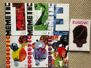 MEMETIC, COGNETIC & EUGENIC James Tynion IV & Eryk Donovan complete set FIRSTS