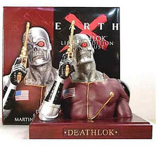 Deathlok Earth X Bust Statue Alex Ross New 2001 Sealed Marvel Comics