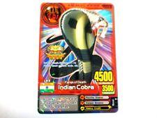 Animal Kaiser English Version Promo Card (A00006P: Indian Cobra)