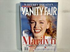 Vanity Fair Magazine June 2012 Marilyn Monroe Cover & The Whitney Houston Story