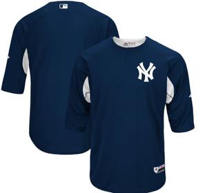 Authentic NY Yankees Batting Baseball Jersey New Mens MEDIUM