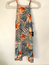 Forever 21 Contemporary Tank Maxi Dress Size S Woven Dress -sh Pink/Multi New