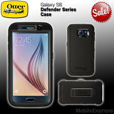 GENUINE Otterbox Defender Series Shockproof Case in Black - Samsung Galaxy S6