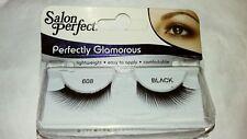 2 - New Salon Perfect Eyelashes Fake Faux Lashes #68 black