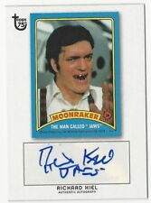 TOPPS ANNIVERSARY 75TH  AUTO / AUTOGRAPH CARD 007 MOONRAKER RICHARD KIEL JAWS