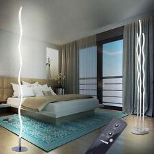 Design LED floor lamps Waves design living room lighting remote control light