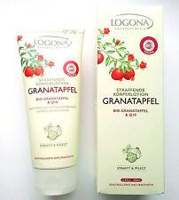 LOGONA Naturkosmetik Straffende KÖRPER LOTION Bio Granatapfel u Q10 200 ml Vegan