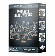Début Collecting Primaris Space Wolves Games workshop Warhammer 40.000 Starter