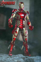 1/12 COMICAVE Iron Man Alloy MK43 Action Figure Body Model Collection Toy Doll