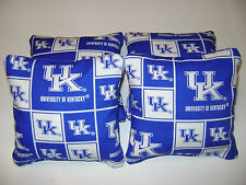 4 CORNHOLE UNIVERSITY OF KENTUCKY BEAN BAG CORN HOLE WILDCATS BAGGO TAILGATE