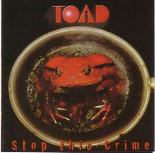 Toad - Stop This Crime CD