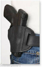 Black Leather Gun Holster for Colt Commander Right Hand PTBS-MB Pro-Tech OWB