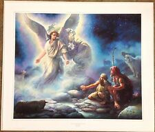"Tom duBois ""Behold. I Bring You Good Tidings"" Time-Limited Edition Print #01623"