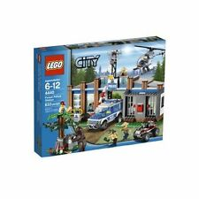 4440 FOREST POLICE STATION lego NEW city town SEALED legos set NISB park rangers