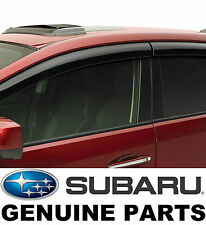 Subaru XV Crosstrek Side Window Deflectors Vent Visors Rain Guards E3610FJ660