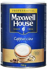 Maxwell House Instant Cappuccino, 750g  pack of 3