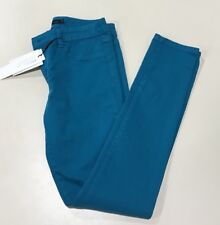 New Calvin Klein Jeans Ck 28/ 6 Jeggings Turquoise Stretch Ultra Skinny Pants 69