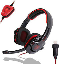 SADES SA-901 Computer PC Laptop Gaming Headphone Headset with Microphone Mic