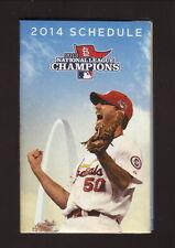 Adam Wainwright--2014 St Louis Cardinals Schedule--Bank of America