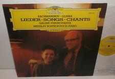 2530 725 Rachmaninov Glinka Lieder Galina Vishnevskaya Mstislav Rostropovich