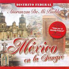 Ana Barbara, Los Elegidos, Aroma, Mexico En La Sangre Distrito Federal CD