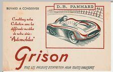 BUVARD GRISON  série automobiles  D.B. PANHARD