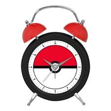 124509 POKEMON POKE BALL DESIGN TWIN BELL ALARM CLOCK GIFT BOX